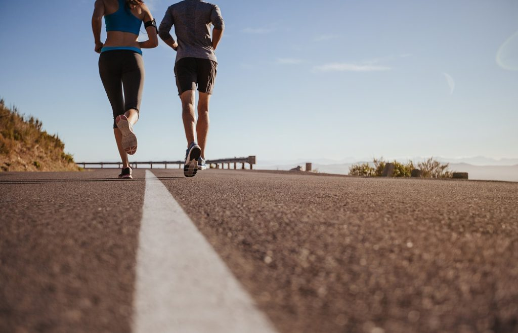 how to run in a heat wave
